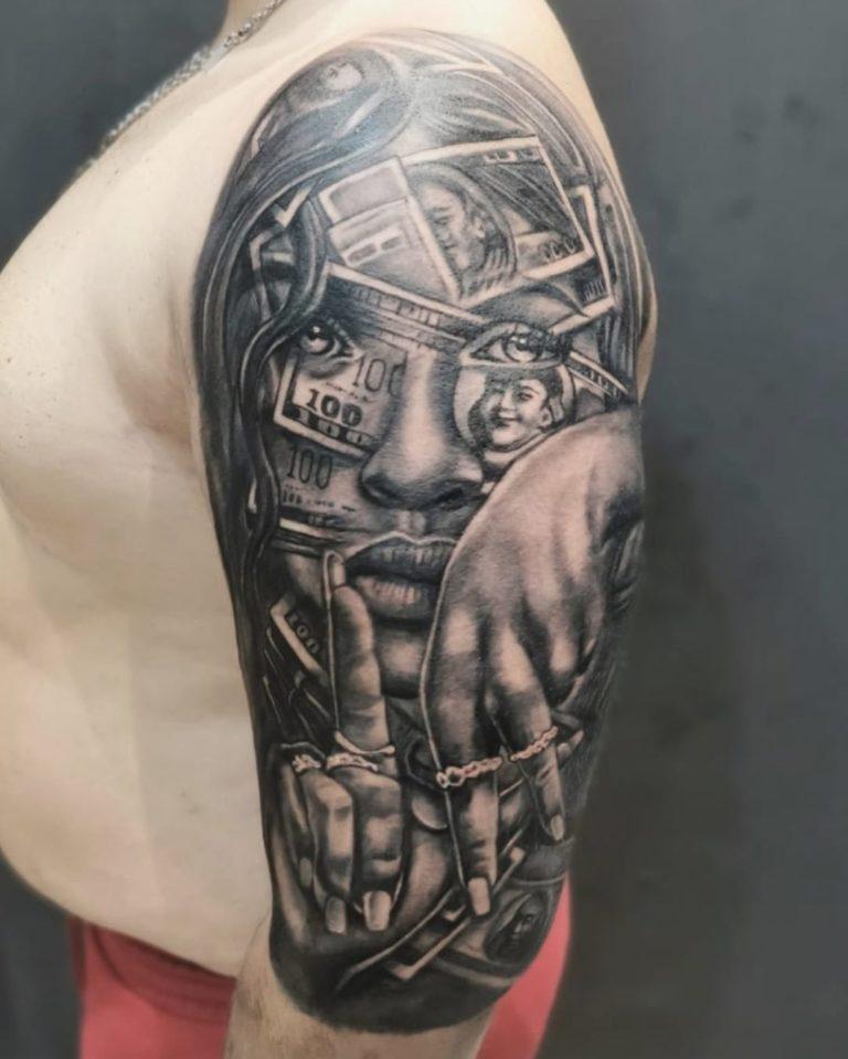 salon tatuaje funky tattoo bucuresti tatuaj brat tatuaj mana tatuaj half sleeve barbati