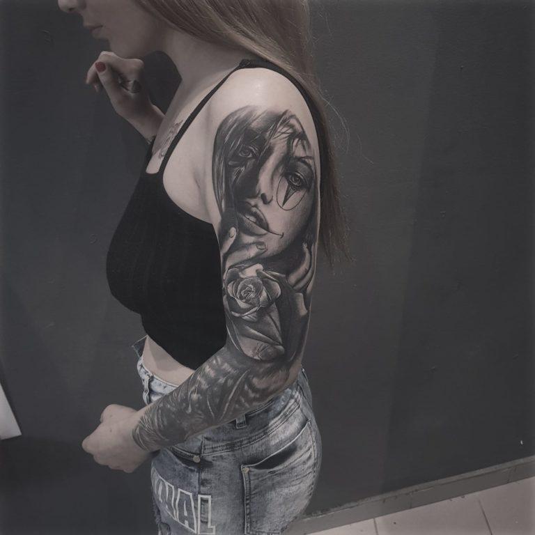 salon tatuaje funky tattoo bucuresti tatuaj brat tatuaj mana tatuaj full sleeve fete