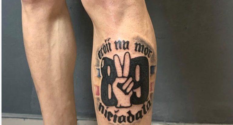 salon tatuaje funky tattoo bucuresti tatuaj spate tatuaj picior revolutia 89