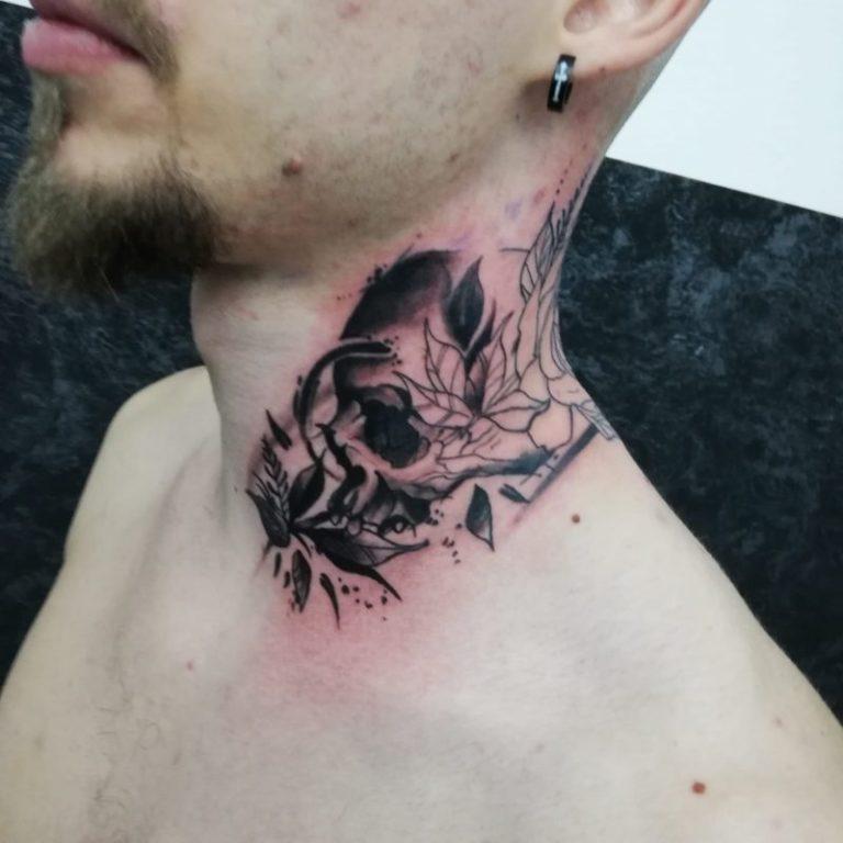 salon tatuaje funky tattoo bucuresti tatuaj gat baieti barbati