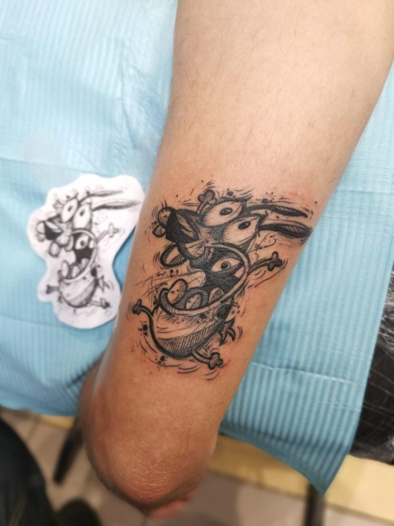tatuaj baieti barbati brat salon tatuaje si piercing Funky tattoo Bucuresti
